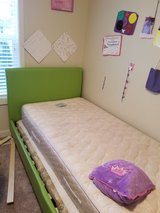 twin beds for sale 2 wooden beds and a pink and green bed in Tacoma, Washington