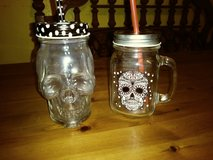 his & hers glass skull cups in Spring, Texas