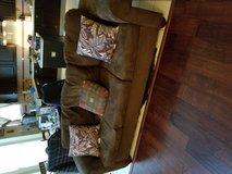Brown Micro fiber Couch set. in Kingwood, Texas