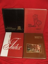 Illinois State Normal University ISU Index Yearbooks 1956-1959 in Chicago, Illinois
