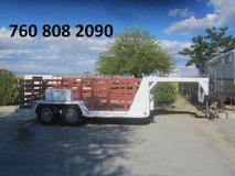 equipment trailer in Yucca Valley, California