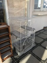 Large cat cage in Okinawa, Japan