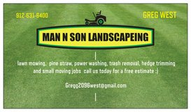 MAN N SON LANDSCAPING in Beaufort, South Carolina
