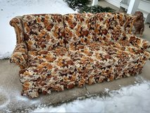 Free couch, must pick up today. Big Rock, IL in St. Charles, Illinois
