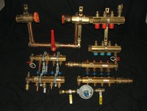 "Viega Radiated Heat Brass Supply & Return Manifolds 1 ¼"" & 1 ½"" + More New in St. Charles, Illinois"