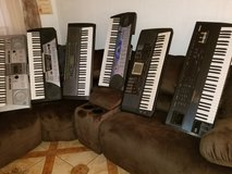 8 different pianos in Alamogordo, New Mexico