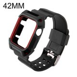 TPU Rubber Bracelet Strap for Apple Watch Sport Edition and Apple Watch Series 2 all Models(Blac... in Fort Campbell, Kentucky