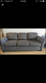Black grey couch in Waukegan, Illinois