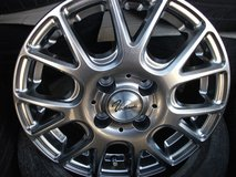 14inch rims and tires set(1) in Okinawa, Japan