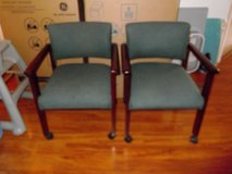 Arm chairs with wheels in Fort Carson, Colorado