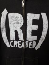 Flawless!  Christian Hoodie S/M EUC- Steven Curtis Chapman Recreated in Bolingbrook, Illinois