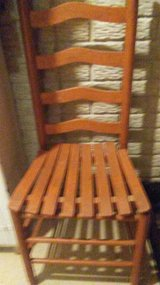 High backed Wood Chair in Sandwich, Illinois