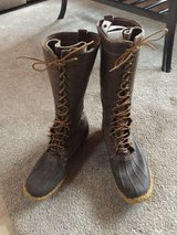 """L. L. Bean Men's Maine Hunting Shoes, 16"""" tall Size 14 in Bartlett, Illinois"""