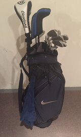 Nike Golf Bag with 13 clubs in Lockport, Illinois