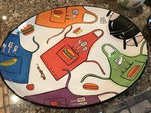 REDUCED!!! FOOTBALL PARTY HOSTESS SET (11 pieces) HAND PAINTED in Spring, Texas