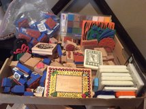 12 ink pads and over 75 stamps in Conroe, Texas