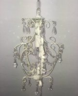 Ceiling Chandelier in Shabby Chic Look (White) in Spangdahlem, Germany