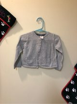 Sz 18 mon - Carter's gray/silver cardigan in Okinawa, Japan