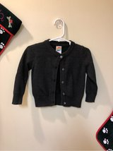 Sz 18 mon - Healthtex sparkly black cardigan in Okinawa, Japan
