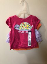 NWT - Sz 18 mon - 2 tees and skirt set in Okinawa, Japan