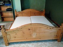 European King bed with night stands in Cleveland, Ohio