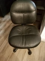 Leather Desk Chair in Bolingbrook, Illinois
