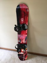 Snowboard with Bindings - Lamar Ultra 149 in Schaumburg, Illinois