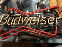 Budweiser Bowtie Neon Light Beer Bar Sign in Fort Knox, Kentucky