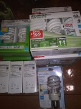 Energy efficient light bulbs - Various in Chicago, Illinois