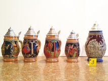 German Steins Lot #3 in Plainfield, Illinois