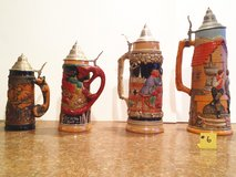 German Steins Lot #6 in Plainfield, Illinois