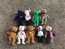 Lot of Ty Beanie Babies Rare Multiple Errors Retired in Byron, Georgia