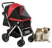 HPZ Pet Rover Premium Heavy Duty Dog/Cat/Pet Stroller Travel Carriage With Convertible Compartme... in Oswego, Illinois