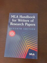 MLA Handbook for Writers of Research Papers in Bolingbrook, Illinois