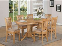 I am Looking for a Light Oak Kitchen Table and Chair Set in Aurora, Illinois