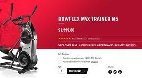 Bowflex Max Trainer Will Kick Your Butt! Best Offer Over $600 Takes It! in Fort Benning, Georgia