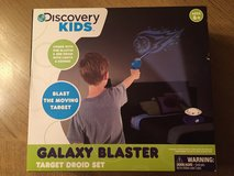 New, Discovery Kids IR Galaxy Blaster w/Target Droid Remote Control in Kingwood, Texas