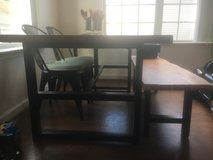 Dining table with bench! in Quantico, Virginia