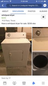 dryer in Fort Bliss, Texas