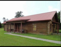 3 bedroom 2 bath Log Cabin Style Home For Sale in Leesville, Louisiana