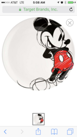 Disney Mickey kitchen decor and dishes in Perry, Georgia