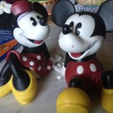 VINTAGE MICKEY & MINNIE PIGGY BANK COLLECTSBLE in Vacaville, California