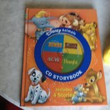 DISNEY ANIMALS CD STORYBOOK (new) in Travis AFB, California
