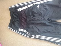3 Pair Men's Large Warm Jersey Lined Athletic Pants Snap Sides Legs in Lockport, Illinois