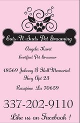 grooming appointments available in Leesville, Louisiana