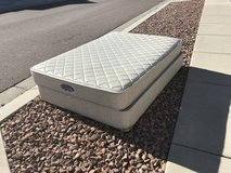 Full size mattress and box spring in Fort Carson, Colorado