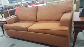 2 cushion pullout couch in Camp Lejeune, North Carolina
