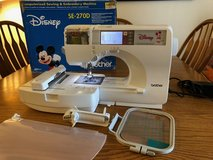 Brother SE270D Computerized Sewing and Embroidery Machine- Disney Edition in Travis AFB, California