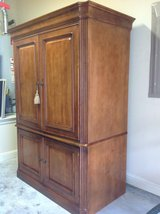 Entertainment Armoire - lowered price in Spring, Texas