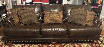 leather couch in Fort Meade, Maryland